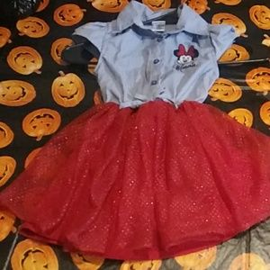 Toddler's Minnie Mouse Dress NWOT